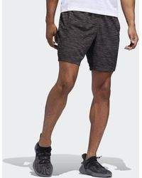 adidas Pantalón corto 4KRFT Sport Striped Heather - Negro