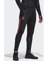 adidas Real Madrid Human Race Sportbroek - Zwart