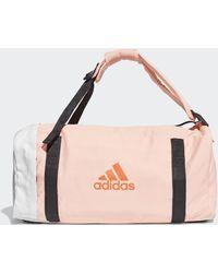 adidas Vs3 Holdall Tas - Roze