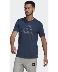 adidas - Sportswear Graphic T-shirt - Lyst