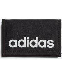 adidas Essentials Logo Wallet - Black