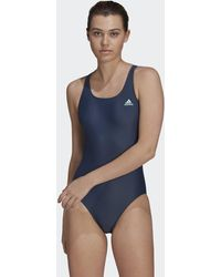 adidas Sh3.ro Solid Swimsuit - Blue