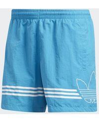 adidas SPRT FB SWIM - Blu