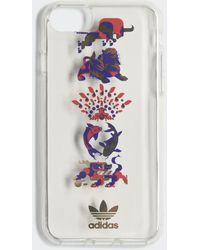 adidas Clear Cny Case Iphone 8 - Wit