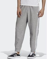 adidas Bouclé Sst Tracksuit Bottoms - Grey
