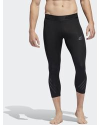 95230237b1 adidas Alphaskin Sport Supreme Speed Long Tights in Blue for Men - Lyst