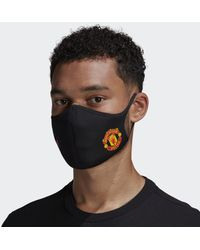 adidas Face Covers M/L 3-Pack Manchester United FC - Nero