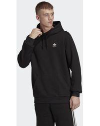 adidas Loungewear Trefoil Essentials Hoodie - Zwart