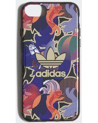 adidas Cover Allover Print CNY iPhone 8 - Nero