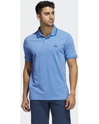 adidas Go-to Primegreen Pique Polo Shirt - Blue
