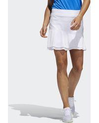 adidas Gonnellino Ultimate365 Knit Frill - Bianco