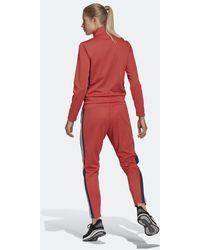 adidas Team Sport Trainingsanzug - Rot