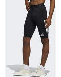 adidas For The Oceans Primeblue Techfit Korte Legging - Zwart