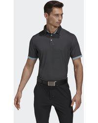 adidas Equipment Two-tone Mesh Polo Shirt - Black