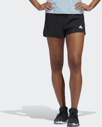 adidas Two-in-One Woven Shorts - Schwarz