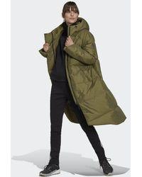 adidas Abrigo de plumón Big Baffle - Verde