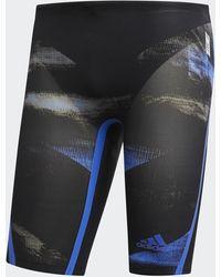 adidas Adizero XVIII Breaststroke Jammer-Badehose - Blau