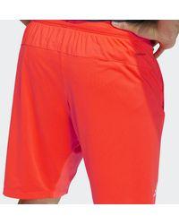 adidas Pantalón corto 4KRFT - Rojo