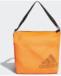 adidas Mesh Carryall Schoudertas - Oranje