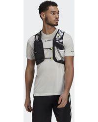 adidas Terrex Primeblue Graphic Trail Running Vest - Black