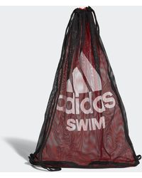 adidas Swim Mesh Tasche - Rot