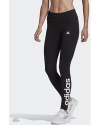 adidas Loungewear Essentials High-waisted Logo Legging - Zwart