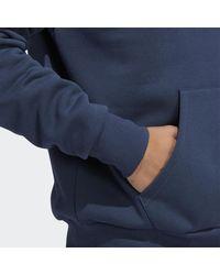 adidas Henry Jones Deckfoil Hoodie (uniseks) - Blauw