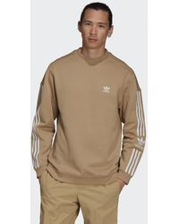 adidas Adicolor Classics Lock-up Trefoil Sweatshirt - Naturel