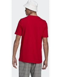 adidas Adicolor Classics Trefoil T-shirt - Rood