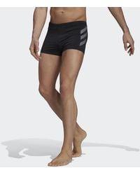 adidas Slip de natation Sports Performance Bold 3-Stripes - Noir