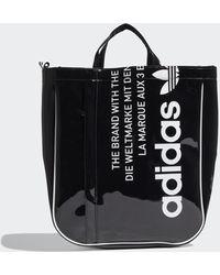 adidas Vintage Airliner Luxe Shopper Bag - Black