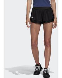 adidas Gameset Match Short - Zwart