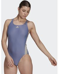 adidas Sh3.ro Classic 3-stripes Swimsuit - Purple