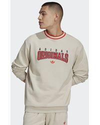 adidas Script Crew Sweatshirt - Natur