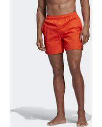 adidas Bañador Solid - Naranja