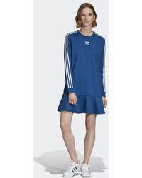 adidas Bellista T-shirt Jurk - Blauw