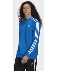 adidas Adicolor Classics 3-stripes Sweatshirt - Blauw