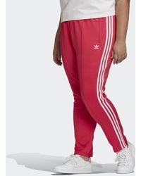 adidas Primeblue Sst Trainingsbroek (grote Maat) - Roze