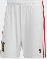 adidas Manchester United Thuisshort - Wit