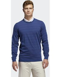 adidas Adipure Spring Sweater - Blauw