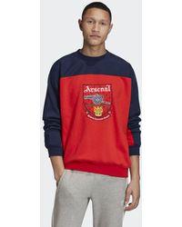 adidas Arsenal Trefoil Sweatshirt - Rood