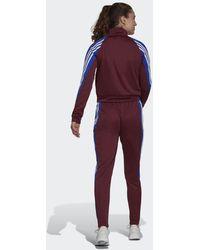 adidas Tuta Sportswear Teamsport - Rosso