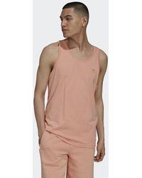 adidas Camiseta sin mangas Adicolor Classics MM Trefoil - Rosa