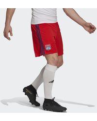 adidas Olympique Lyonnais 21/22 Uitshort - Rood