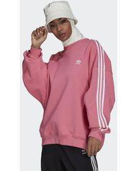 adidas Adicolor Classics Oversized Sweatshirt - Roze