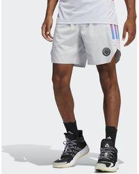 adidas Paris Basketball Thuisshort - Grijs