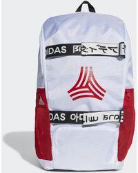 adidas Football Street AEROREADY Rucksack - Weiß