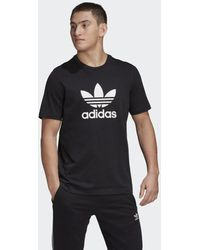 adidas Originals Trefoil T-shirt - Zwart