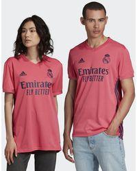 adidas Real Madrid 20/21 Uitshirt - Roze