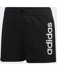 adidas - Essentials Linear Logo Shorts - Lyst